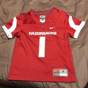 Little boys Razorbacks jersey